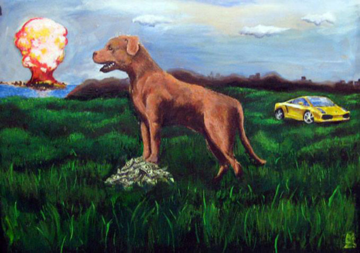 The Adventures of Future the Wonder Dog, by Accra Zuberi